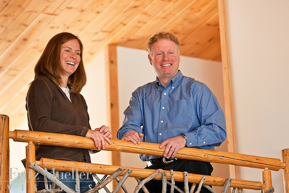 Rod and Martha Taylor of Uncommon Journeys at their Whitehorse homestead lodge