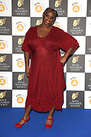 LONDON, UK. March 19, 2019: Andi Oliver arriving for the Royal Television Society Awards 2019 at the Grosvenor House Hotel, London.<br /> Picture: Steve Vas/Featureflash