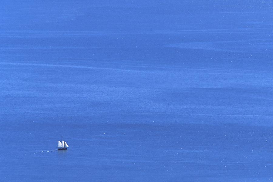 Schooner in Penobscot Bay, Maine