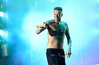 Watkin Tudor Jones / Ninja von Die Antwoord live auf dem 20. Melt! Festival 2017 auf der Halbinsel Ferropolis. Gräfenhainchen, 16.07.2017