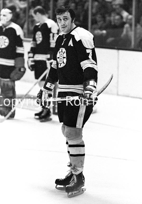 Bobton Bruins Phil Esposito..(1971 photo/Ron Riesterer)