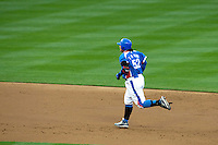 21 March 2009: #52 Tae Kyun Kim runs the base after hitting an homerun during the 2009 World Baseball Classic semifinal game at Dodger Stadium in Los Angeles, California, USA. Korea wins 10-2 over Venezuela.