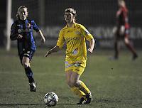 Club Brugge Dames - WB Sinaai Girls : Elke Van Driessche.foto DAVID CATRY / Vrouwenteam.be