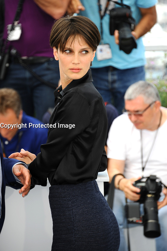 CANNES, FRANCE - MAY 26: Actress Marine Vacth attends the 'Amant Double (L'Amant Double')' photocall during the 70th annual Cannes Film Festival at Palais des Festivals