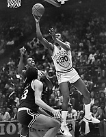 Warriors Bernard King against the Boston Celtics...<br />