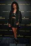 New York Based Director, Filmmaker, Artist, Designer, Creative Consultant and DJ VASHTIE KOLA AT  ATTYSON BECKFORD HONORED  AT COURVOISIER'S EXCEPTIONAL JOURNEY LAUNCH EVENT HOSTED BY CHEF ROBLE HELD AT  THE SKYLARK