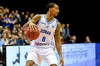 GRONINGEN - Basketbal, Donar - Spirou Basket, Martiniplaza, Europe Cup, seizoen 2018-2019, 20-11-2018, Donar speler Jason Dourisseau