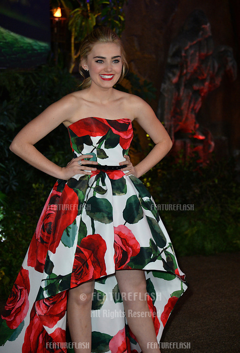"Meg Donnelly at the Los Angeles premiere of ""Jumanji: Welcome To the Jungle"" at the TCL Chinese Theatre, Hollywood, USA 11 Dec. 2017<br /> Picture: Paul Smith/Featureflash/SilverHub 0208 004 5359 sales@silverhubmedia.com"
