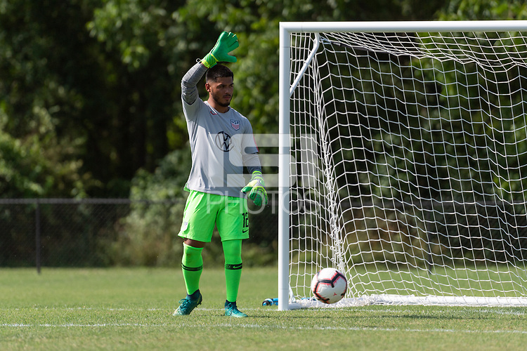Rome, GA - Friday, June 21, 2019:  Marc Estrella during a Para 7 USMNT training session.