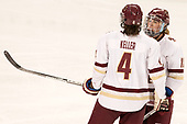 Megan Keller (BC - 4), Toni Ann Miano (BC - 18) - The Boston College Eagles defeated the visiting University of Maine Black Bears 2-1 on Saturday, October 8, 2016, at Kelley Rink in Conte Forum in Chestnut Hill, Massachusetts.  The University of North Dakota Fighting Hawks celebrate their 2016 D1 national championship win on Saturday, April 9, 2016, at Amalie Arena in Tampa, Florida.