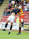 14/08/2010   Copyright  Pic : James Stewart.sct_jsp004_partick_th_v_dundee  .::  GARY HARKINS AND IAN MAXWELL CHALLENGE::.James Stewart Photography 19 Carronlea Drive, Falkirk. FK2 8DN      Vat Reg No. 607 6932 25.Telephone      : +44 (0)1324 570291 .Mobile              : +44 (0)7721 416997.E-mail  :  jim@jspa.co.uk.If you require further information then contact Jim Stewart on any of the numbers above.........