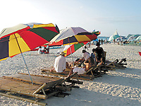 Beach scene at Boracay Island