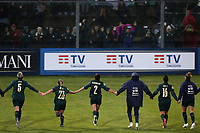 Italy celebrates at the end of the match<br /> Castel di Sangro 12-11-2019 Stadio Teofolo Patini <br /> Football UEFA WomenÕs EURO 2021 <br /> Qualifying round - Group B <br /> Italy - Malta<br /> Photo Cesare Purini / Insidefoto