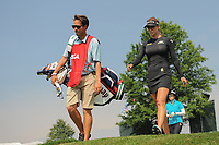 Belen Mozo (ESP) departs the 16th tee during Thursday's first round of the 72nd U.S. Women's Open Championship, at Trump National Golf Club, Bedminster, New Jersey. 7/13/2017.<br /> Picture: Golffile | Ken Murray<br /> <br /> <br /> All photo usage must carry mandatory copyright credit (&copy; Golffile | Ken Murray)