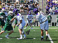 Top seeded Albany defeats no. 3 seeded Vermont for the America East Tourney championship on May 05, 2018 at Casey Stadium in Albany, New York.  (Bob Mayberger/Eclipse Sportswire)
