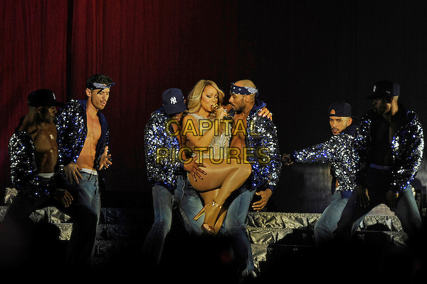 LONDON, ENGLAND - March 23: Mariah Carey performing at the O2 Arena on March 23, 2016 in London, England.<br /> CAP/MAR<br /> &copy; Martin Harris/Capital Pictures