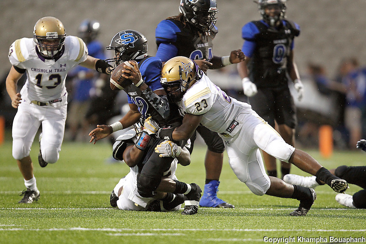 Chisholm Trail plays Mansfield Summit in high school football in Mansfield on Thursday, September 1, 2016. Summit won 33-0.