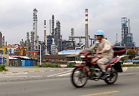 Sinopec Zhenhai Refining&Chemical Co.,Ltd (ZRCC) in Ningbo, Zhejiang province, China. According to the Special Report of World Refining in 2005 by Oil & Gas Journal, ZRCC is the 18th of the largest refineries in the world, also becomes mainland China first to enter the world-class big refinery ranks. .