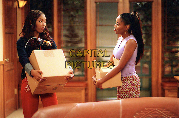 """BRANDY NORWOOD & SHAR JACKSON.in Moesha.""""Paying the Piper"""".Filmstill - Editorial Use Only.Ref: FB.www.capitalpictures.com.sales@capitalpictures.com.Supplied By Capital Pictures."""