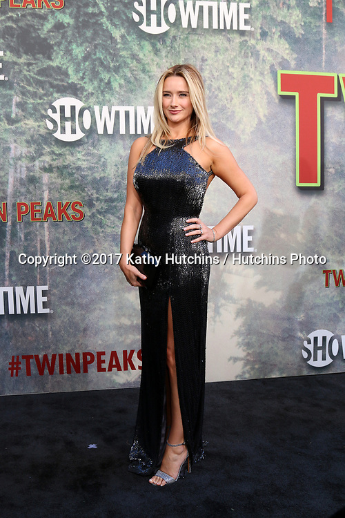 "LOS ANGELES - MAY 19:  Amy Shiels at the ""Twin Peaks"" Premiere Screening at The Theater at Ace Hotel on May 19, 2017 in Los Angeles, CA"