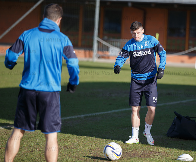 Fraser Aird with Richard Foster