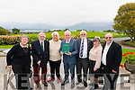 Minister Jimmy Deenihan launched 'History of the Moriarty's in Kerry' book last Saturday in Aghadoe Heights Hotel, Killarney. Pictured with L-R Jane and Patrick Moriarty, Elsie and Peter Ritchie, Mary Jane and Tom Kirby.