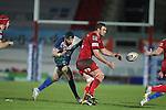 Scarlets lock Johan Snyman..Scarlets v Connacht.Parc y Scarlets.Rabo Pro12.08.02.13.©Steve Pope-SPORTINGWALES