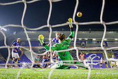 1st November 2017, St. Andrews Stadium, Birmingham, England; EFL Championship football, Birmingham City versus Brentford; Tomasz Kuszczak of Birmingham City keeps the ball out