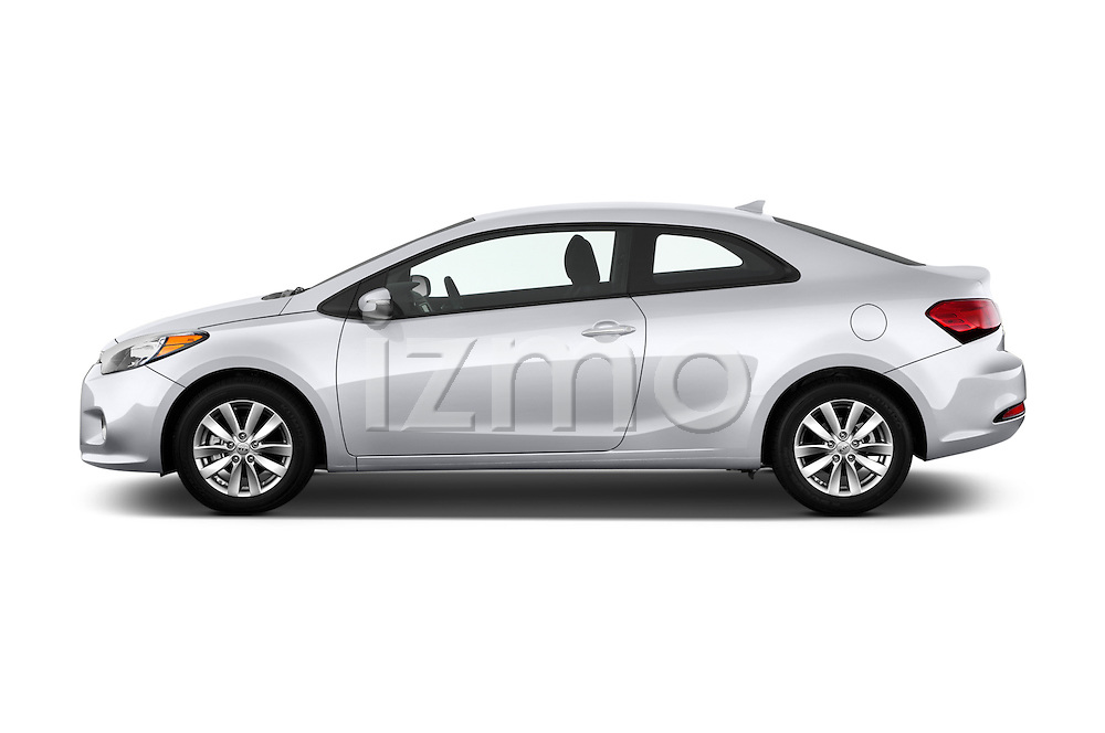Car Driver side profile view of a 2016 KIA Forte-Koup EX 2 Door Coupe Side View
