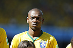 Fernandinho (BRA), JUNE 28, 2014 - Football / Soccer : FIFA World Cup Brazil 2014 round of 16 match between Brazil and Chile at the Mineirao Stadium in Belo Horizonte, Brazil. (Photo by AFLO)