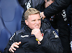 Bournemouth's Eddie Howe looks on during the Premier League match at White Hart Lane Stadium.  Photo credit should read: David Klein/Sportimage