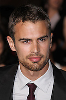 "WESTWOOD, LOS ANGELES, CA, USA - MARCH 18: Theo James at the World Premiere Of Summit Entertainment's ""Divergent"" held at the Regency Bruin Theatre on March 18, 2014 in Westwood, Los Angeles, California, United States. (Photo by Xavier Collin/Celebrity Monitor)"