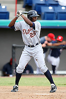 October 5, 2009:  Shortstop Audy Ciriaco of the Detroit Tigers organization during an Instructional League game at Space Coast Stadium in Viera, FL.  Photo by:  Mike Janes/Four Seam Images