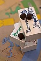 Europe/France/Midi-Pyrénées/12/Aveyron/Env d'Espalion/Le Cayrol:  Chocolats de l'Abbaye de Bonneval - Les chocolats de l'Abbaye de Bonneval sont fabriqués  par les moniales dans les ateliers de l'abbaye. Notre-Dame de Bonneval est une abbaye cistercienne