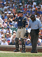 Rob Bowen of the San Diego Padres vs. the Chicago Cubs: June 18th, 2007 at Wrigley Field in Chicago, IL.  Photo By Mike Janes/Four Seam Images