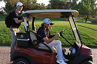 Tommy Fleetwood (ENG) on the 8th during the Pro-Am of the Abu Dhabi HSBC Championship 2020 at the Abu Dhabi Golf Club, Abu Dhabi, United Arab Emirates. 15/01/2020<br /> Picture: Golffile | Thos Caffrey<br /> <br /> <br /> All photo usage must carry mandatory copyright credit (© Golffile | Thos Caffrey)