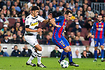 VfL Borussia Monchengladbach's Mahmoud Dahoud, FC Barcelona's Paco Alcacer  during Champions League match between Futbol Club Barcelona and VfL Borussia Mönchengladbach  at Camp Nou Stadium in Barcelona , Spain. December 06, 2016. (ALTERPHOTOS/Rodrigo Jimenez)