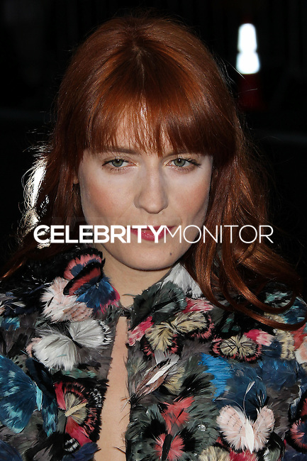 "NEW YORK CITY, NY, USA - MAY 05: Florence Welch at the ""Charles James: Beyond Fashion"" Costume Institute Gala held at the Metropolitan Museum of Art on May 5, 2014 in New York City, New York, United States. (Photo by Xavier Collin/Celebrity Monitor)"