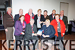 Kerry Labour members at the party conference in the INEC on Friday front row l-r: Helen Tobin, Sean Counihan, Senator Marie Moloney, Eileen Hayes. Back row: Dan Kiely, Jean Moriarty, Donal Tobin, Nuala Sarsfield, Ciaran Nelligan, Maurice Kelly, Sean McCarthy