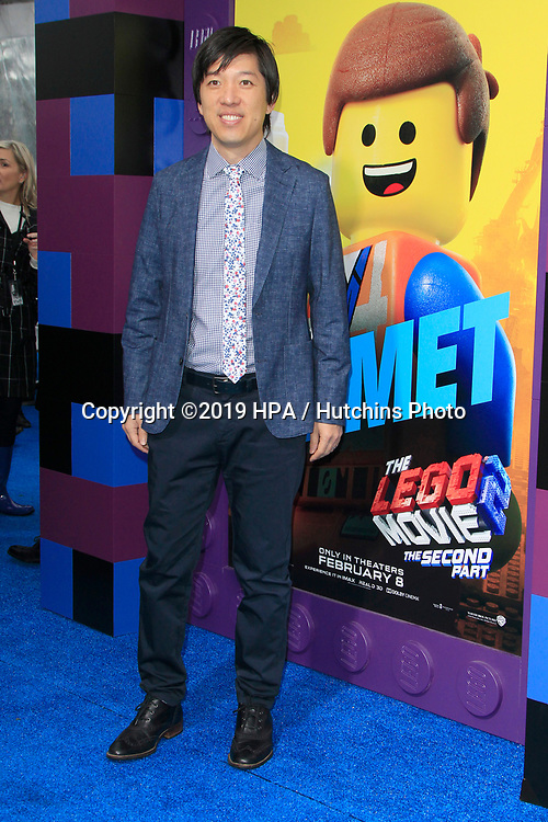 """LOS ANGELES - FEB 2:  Dan Lin at """"The Lego Movie 2: The Second Part"""" Premiere at the Village Theater on February 2, 2019 in Westwood, CA"""