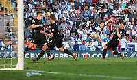 Blackburn Rovers' Jack Payne scores his sides second goal<br /> <br /> Photographer Rachel Holborn/CameraSport<br /> <br /> The EFL Sky Bet League One - Blackburn Rovers v Oxford United - Saturday 5th May 2018 - Ewood Park - Blackburn<br /> <br /> World Copyright &copy; 2018 CameraSport. All rights reserved. 43 Linden Ave. Countesthorpe. Leicester. England. LE8 5PG - Tel: +44 (0) 116 277 4147 - admin@camerasport.com - www.camerasport.com