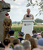 31.07.2017, Ypres; Belgium: PRINCE CHARLES<br /> attends National Service of Remembrance at the Welsh Memorial in Flanders<br /> This year marks the centenary anniversary of the beginning of the Battle of Passchendaele, the Third Battle of Ypres.The battle in Flanders began on 31 July 1971 and was a major engagement in the First World War, claiming the lives of around 275,000 British and Commonwealth Military personnel and around 200,000 German lives.<br /> Mandatory Credit Photo: &copy;MoD/NEWSPIX INTERNATIONAL<br /> <br /> IMMEDIATE CONFIRMATION OF USAGE REQUIRED:<br /> Newspix International, 31 Chinnery Hill, Bishop's Stortford, ENGLAND CM23 3PS<br /> Tel:+441279 324672  ; Fax: +441279656877<br /> Mobile:  07775681153<br /> e-mail: info@newspixinternational.co.uk<br /> *All fees payable to Newspix International*