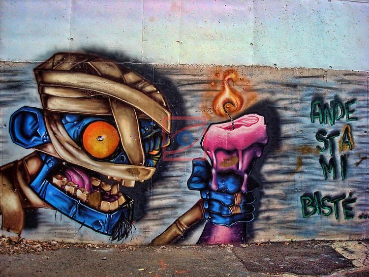 Street Art-Graffittis.<br /> Andorra.
