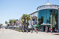 Downtown Main Street in Huntington Beach California