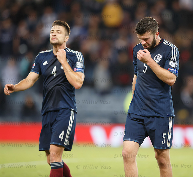 Grant Hanley close to tears