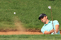 Haydn Porteous (RSA) plays out of a bunker onto the 10th green during Round 4 of the D+D Real Czech Masters at the Albatross Golf Resort, Prague, Czech Rep. 03/09/2017<br /> Picture: Golffile | Thos Caffrey<br /> <br /> <br /> All photo usage must carry mandatory copyright credit     (&copy; Golffile | Thos Caffrey)