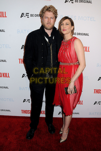 26 February 2014 - Hollywood, California - Renn Hawkey, Vera Farmiga. &quot;Bates Motel&quot; Season 2 and &quot;Those Who Kill&quot; Premiere Party held at Warwick. <br /> CAP/ADM/BP<br /> &copy;Byron Purvis/AdMedia/Capital Pictures