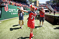 Portland, OR - Saturday August 05, 2017: Tyler Lussi during a regular season National Women's Soccer League (NWSL) match between the Portland Thorns FC and the Houston Dash at Providence Park.