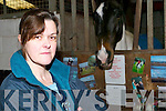 They cleared us out: Wendy Brosnahan of the Listowel Equestrian Centre who had EUR25,000 worth of equipment stolen from the Dromin Riding for the Disabled facility on Friday night..   Copyright Kerry's Eye 2008