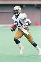 James Murphy Winnipeg Blue Bombers 1986. Copyright photograph Scott Grant